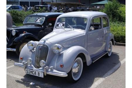 Coussinets de bielle trimétal - Simca  8.1200