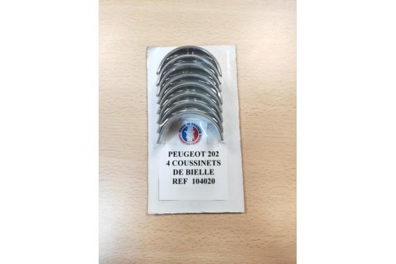 Coussinets de bielle - Peugeot 202